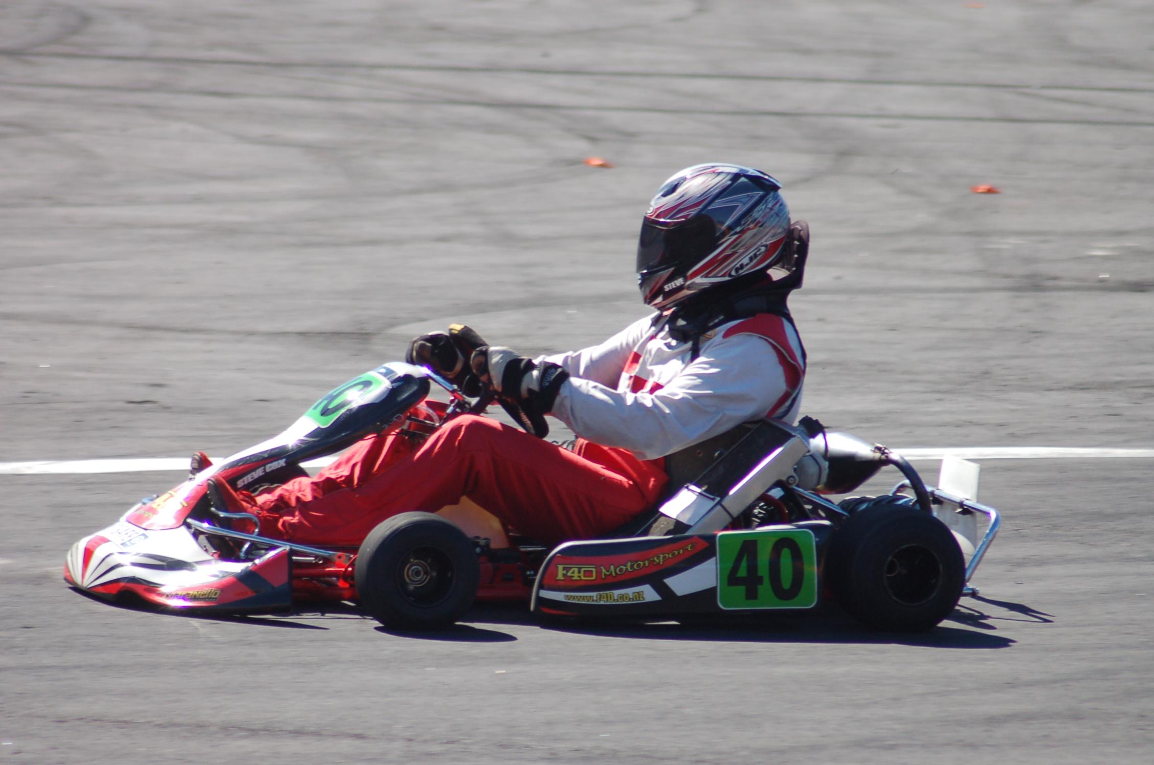 Steve Cox Go Kart 2
